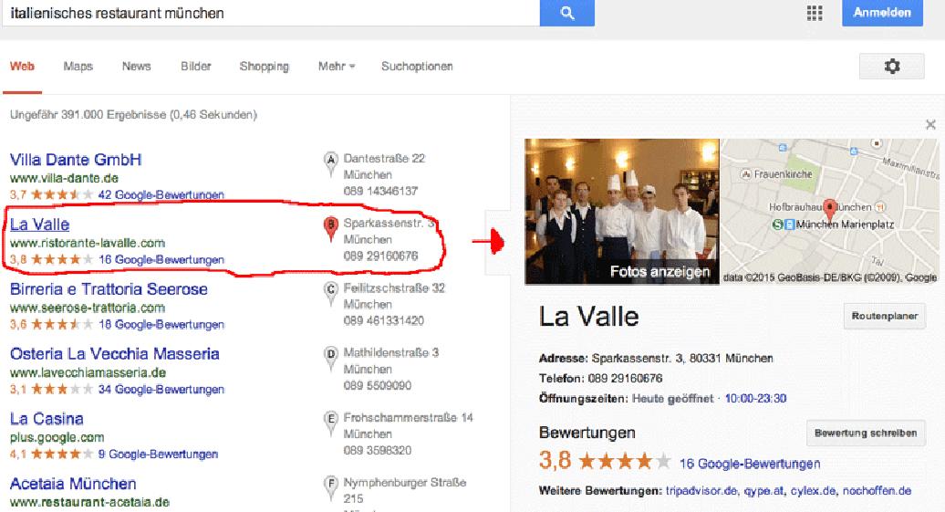Google Lokale Suche optimieren - So schafft es Ihr Unternehmen nach ...